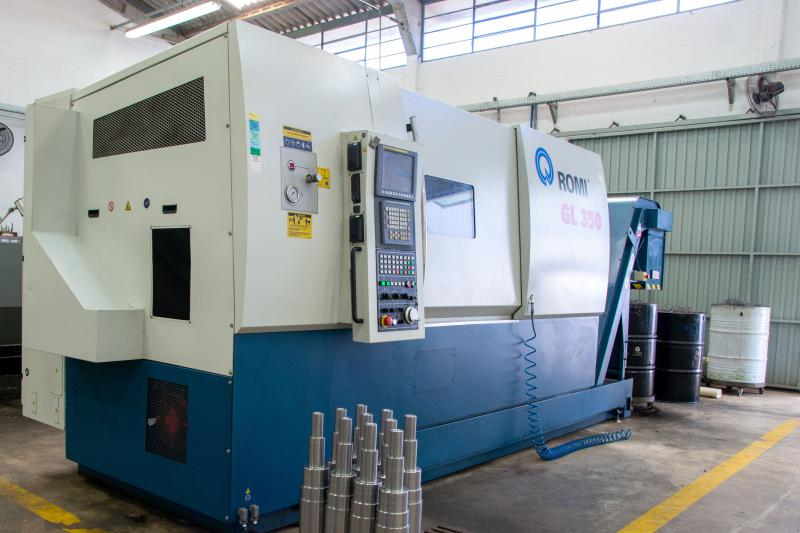 Empresa de usinagem torno cnc
